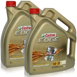 Castrol-EDGE-TITANIO-FST-5w-30-ll-aceite-del-motor-motores-petroleo-2-x-5-l-litros-15669e