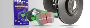pd01kf1157-EBC-Delantero-Freno-Kit-Greenstuff-Pastillas-amp-DISCOS-Estandar