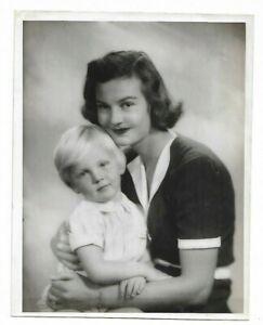 6 x 8 original Marcus Adams Photo Mrs. Carleton-Paget & Son John Bing Oswald