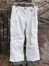 Women's White Snow Boarding Pants By TRESPASS Size MED
