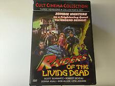 Raiders of Living Dead Region 1- NTSC 2 DVD SET 014381146721 CULT CINEMA