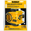 Dewalt porte Deadbolt Lock Kit d/'installation Bi Metal Hole Saw Drill Bit Tool Set