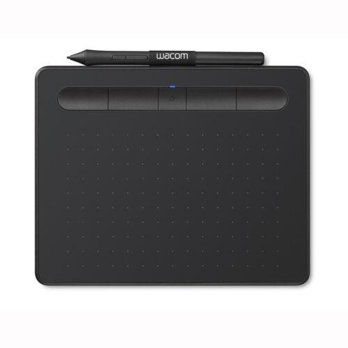 "Black Wacom Intuos Wireless Graphics Drawing Tablet UCTL4100WL... 7.9/"" x 6.3/"""