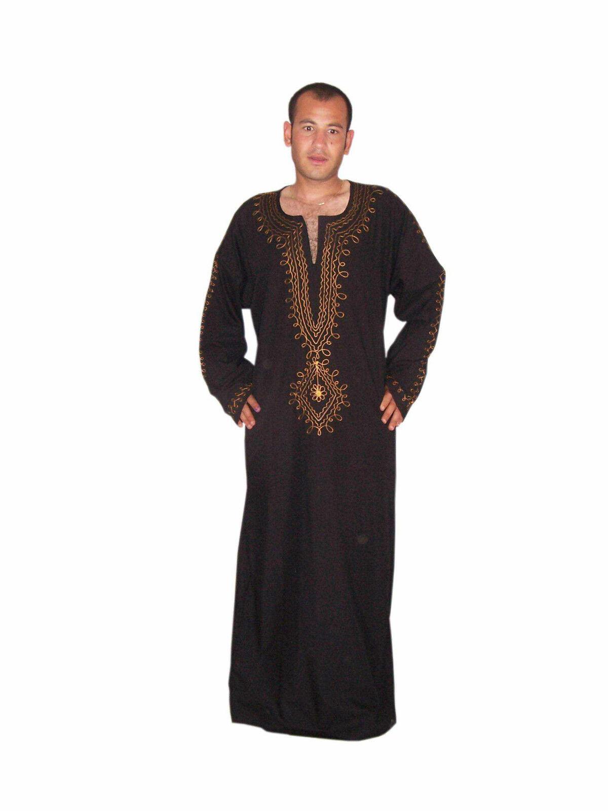 Wunderschöner eleganter Moderner Herren Herren Herren Kaftan aus1001 Nacht in schwarz KAM00632 | Langfristiger Ruf  fb3972