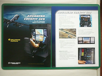 2009 GENERAL ATOMICS AERONAUTICAL DRONE ADVANCED COCKPIT GCS GROUND CONTROL
