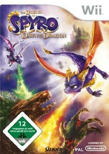 Nintendo-Wii-Spiel-The-Legend-of-Spyro-Dawn-of-the-Dragon-mit-OVP