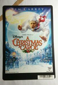 A CHRISTMAS CAROL JIM CARREY ZEMECKIS ART MINI POSTER BACKER CARD (NOT A movie )   eBay