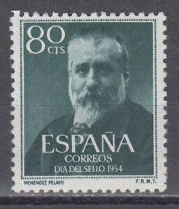 SPANIEN-1954-MNH-NUEVO-SIN-FIJASELLOS-EDIFIL-1142-MARCELINO-MENENDEZ