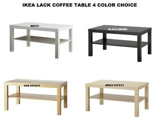 Image Is Loading Ikea Lack Coffee Table With Shelf Modern Amp