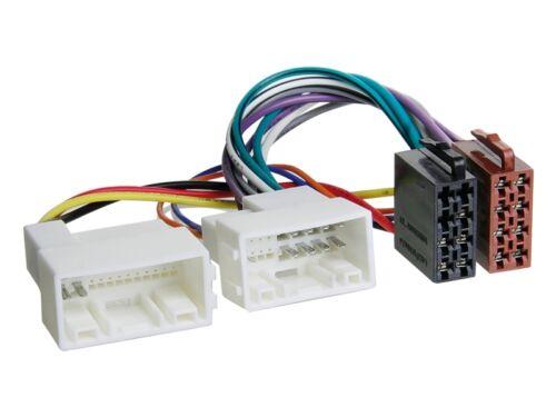 Kia Rio UB 11-15 1-DIN Autoradio Einbauset Adapter Kabel Radioblende