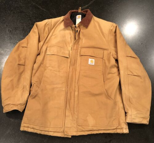 Carhartt Jacket Coat Large Tall Quilt Lined