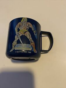 rare Masters of the universe  He-Man  Mug Mattel 1986