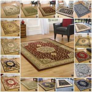 Petit-Extra-Large-Classique-Traditionnel-Oriental-Persan-Runner-ronde-Area-Rugs