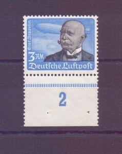 Dt-Reich-1934-3-M-Flugpost-MiNr-539-postfr-Rand-Michel-200-00-041