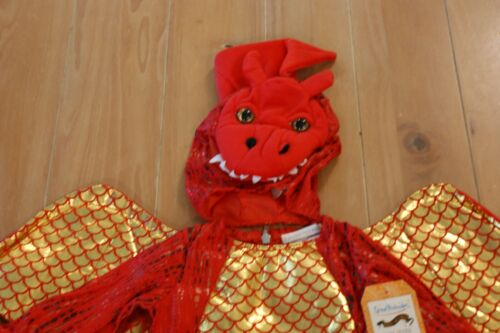 New Pottery Barn Kids BABY DRAGON RED Costume Toddler Infant 12-24 Months