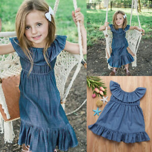 3d2c59d124d Image is loading Fashion-Baby-Kids-Girls-Toddler-Denim-Jeans-Overalls-