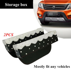 Front Seat Filler PU Leather Car Organizer Front Seat Filler with Cup Holder for Car Document Glove Coin Wallet Cup Storage Co-pilot