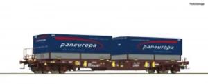 Roco-76226-HO-Gauge-AAE-Sdgmns33-Wagon-Paneuropa-VI