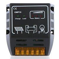 Solar Controller 10a 12v/24v Solar Charge Controller Yueton Solar Panel Battery on sale