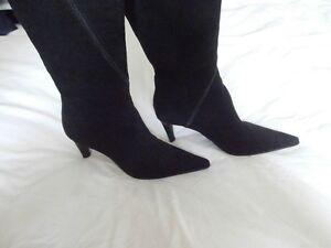 Roberto-Vianni-women-039-s-black-boots