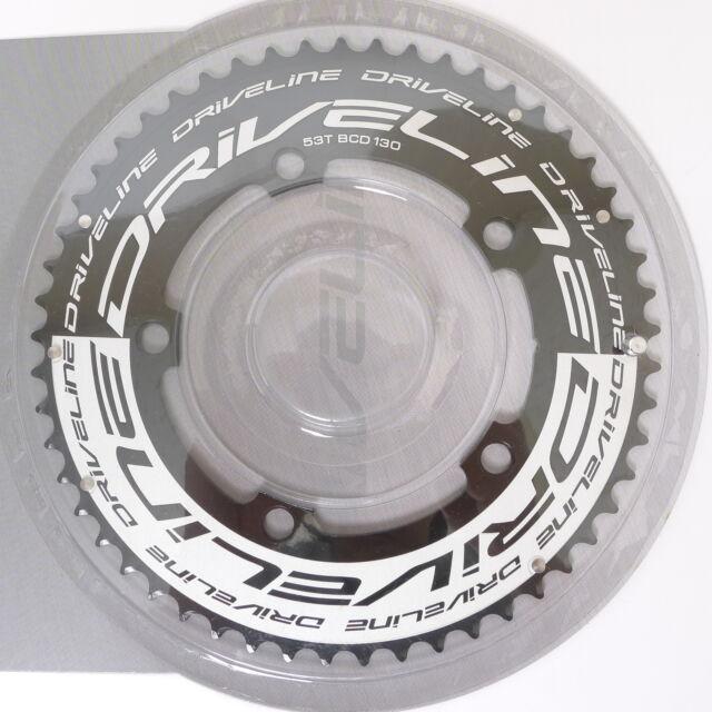 SRAM Red//Force 55T YAW 2x11 Spd TT//TRI Chainring Non-Hidden//Hidden Bolt 22 Spd