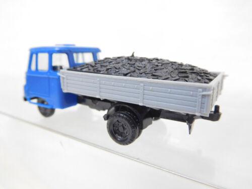 eso-5523 SPM//Stettnisch 1:87 Robur LO 2500 blau mit Kohleladung
