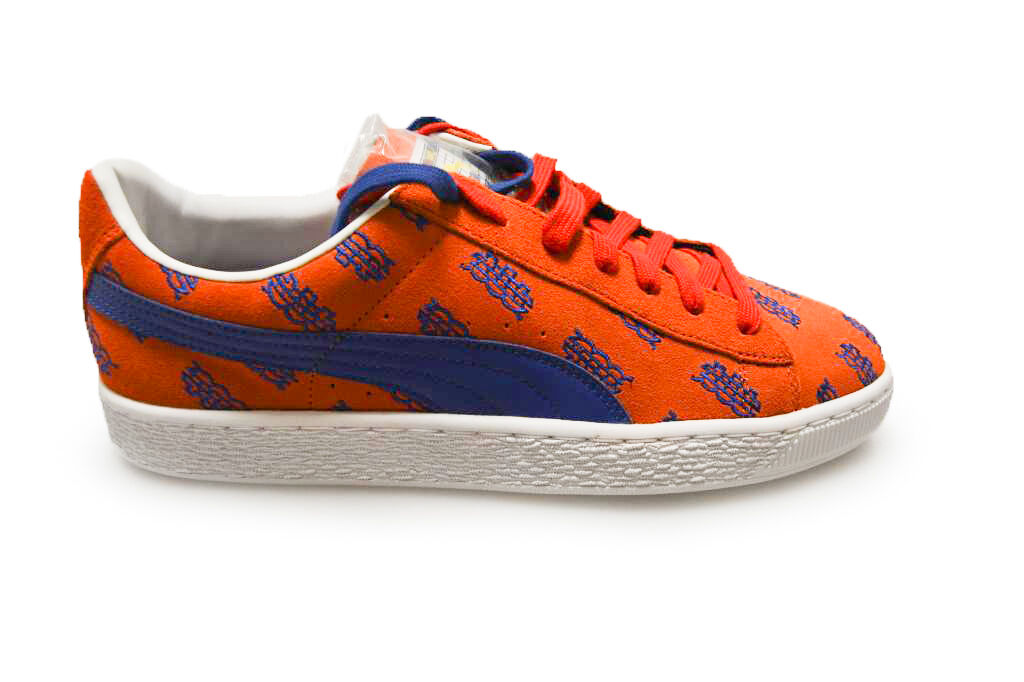 Herren Puma Basket Dee & Ricky NYC - Surf Das Netz - 36200401 - Orange Blueb