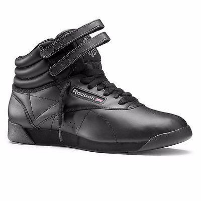 REEBOK FREESTYLE Hi schwarz   Damen Sneaker Classic Laufschuhe  2240