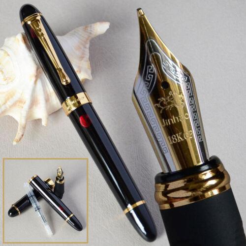 Jinhao X450 Feuerwerk Füller 0.7mm Nib 18KGP Golden Schnitt Kinder Pen
