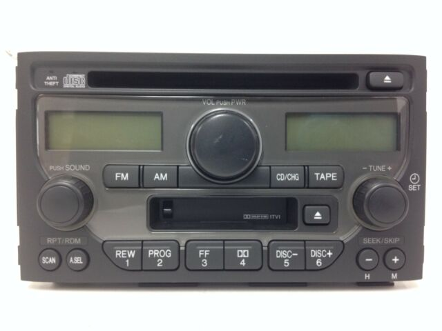 Honda Pilot 03 05 Cd Cette Radio 1tv1 Oem Factory Original Stereo New