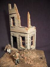 1/35 Scala WW2 Caen in rovina CASA MODELLO KIT. MILITARE DIORAMA Accessorio