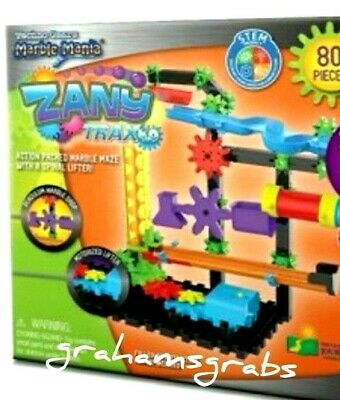New Techno Gears Marble Mania Zany Trax 4 0 Building Play