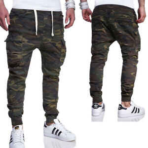 jogger jeans camouflage cargo hose chino jogginghose in. Black Bedroom Furniture Sets. Home Design Ideas