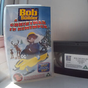 image is loading bob the builder a christmas to remember vhs - Bob The Builder A Christmas To Remember