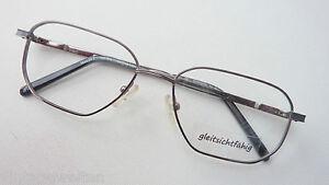 Vogue Brillenfassung Silber Klein Schmale Glasform Rot-weiße Acetatbügel Size S Damen-accessoires Brillenfassungen