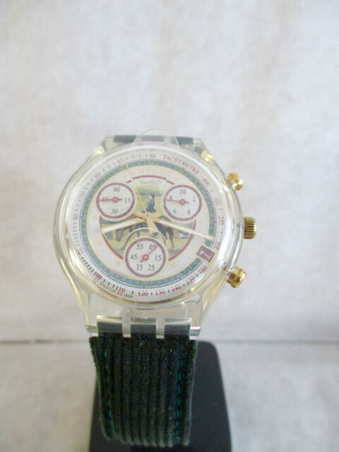 Montre Chronograph SWATCH La Majesté Velours - SCK405