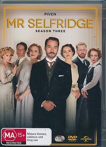 Mr-Selfridge-Season-three-3-DVD-NEW-Third-Region-4