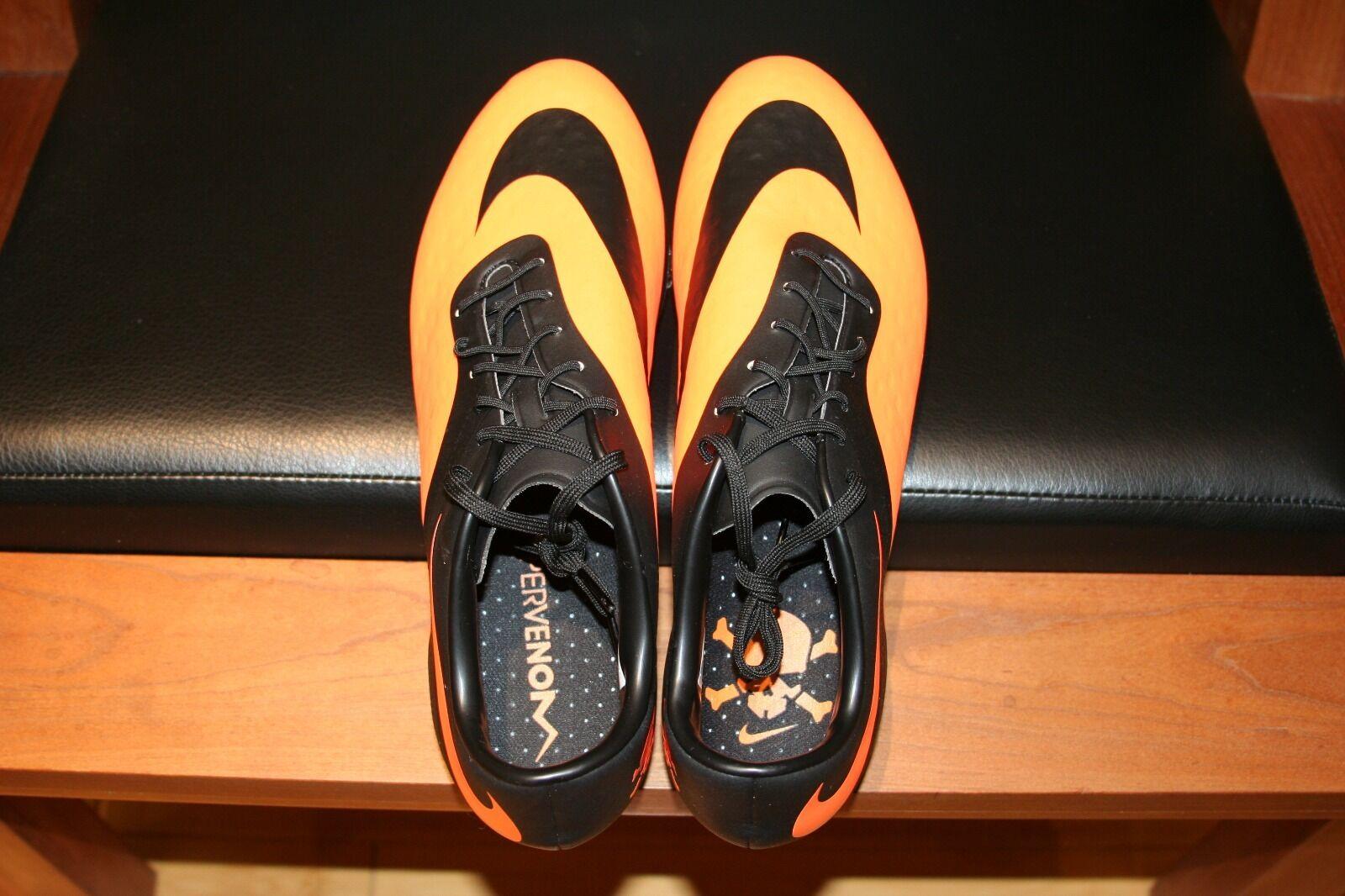 Männer - nike hypervenom phatal fg stollenschuhe 599075 schwarz / orange 10,5