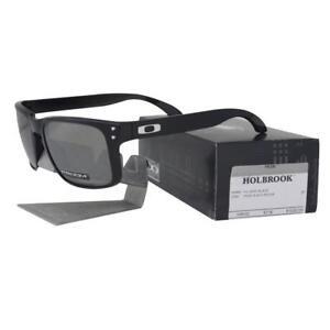 b13ea142d85 Oakley OO 9102-E155 HOLBROOK Polished Black Prizm Black Iridium Lens ...