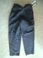 C'est City Grey Silk Acrylic Wool Blend Dress Casual Pants Size 8
