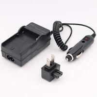 Battery Charger For Np-bg1 Sony Cybershot Dsc-h20 Dsc-h20b 10.1mp Digital Camera