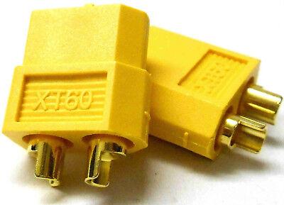 Bello C0105 Rc Compatibile Con Xt60 Xt-60 Connettore Giallo Maschio Femmina X 1 - V1 Acquista Sempre Bene