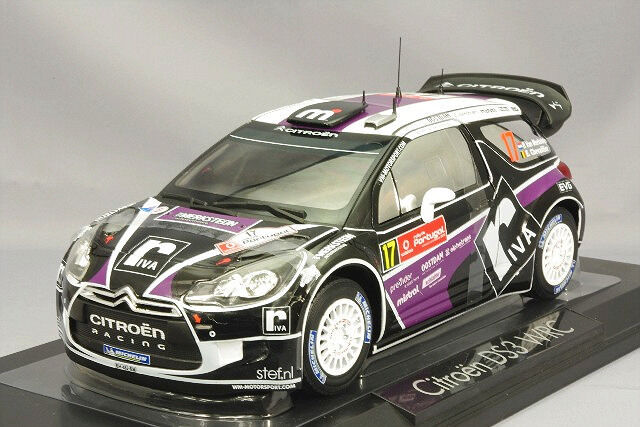 1 18 norev  181559 CITROEN DS3 WRC Rallye de Portugal 2012