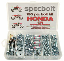 HONDA CR ENGINE FRAME PLASTICS BOLT KIT CR80 CR85 CR125 CR250 CR450 CR500 150pc