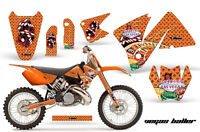 Ktm C3 Exc Mxc Graphics Kit Amr Racing Bike Decal Sticker Part 01-02 Vegas O