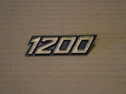 NEW REPRODUCTION. LAVERDA 1200 ANNIVERSARY EDITION SIDE COVER BADGE