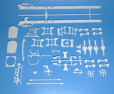 AMT Kenworth Tyrone Malone Transport Hauler Frame & Suspension Parts Set 1/25