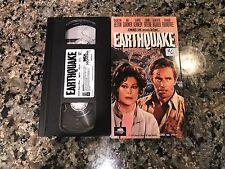 Earthquake VHS! 1974 LA Shock Waves Action! Apocalypse The Core Volcano