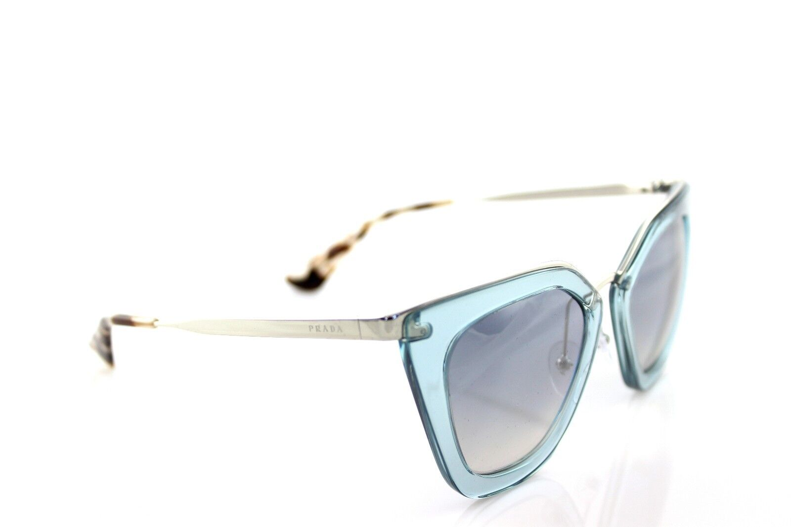 00be69446f9 RARE Genuine PRADA Cinema Evolution Transparent Azure Sunglasses Spr 53s Vys-5r0  for sale online