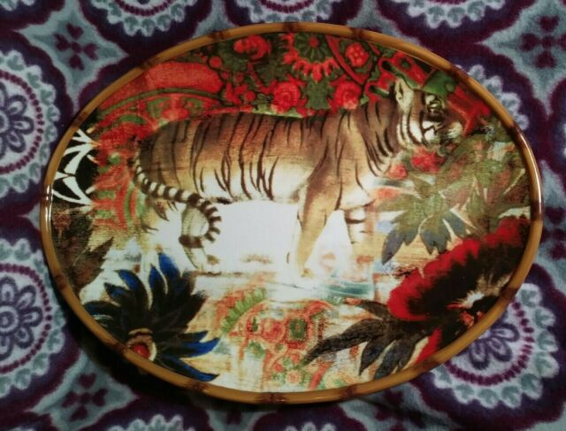 """Tracy Porter POETIC WANDERLUST FOLKLORE HOLIDAY 8.5/"""" Salad Plate Set Certified"""